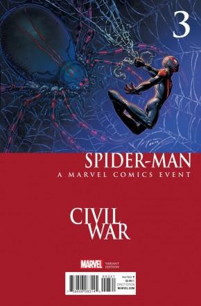 SPIDER-MAN #3 (2016 SERIES) CHIN CIVIL WAR VARIANT