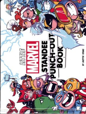 LITTLE MARVEL STANDEE PUNCH OUT BOOK HARDCOVER