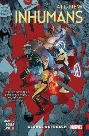 ALL NEW INHUMANS VOLUME 1 GLOBAL OUTREACH GRAPHIC NOVEL