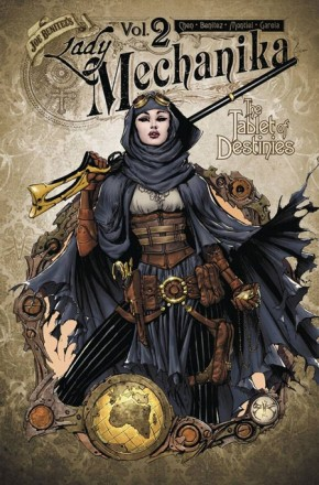 LADY MECHANIKA VOLUME 2 TABLET OF DESTINIES GRAPHIC NOVEL
