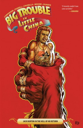 BIG TROUBLE IN LITTLE CHINA VOLUME 3 GRAPHIC NOVEL