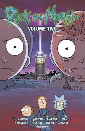 RICK AND MORTY VOLUME 2 GRAPHIC NOVEL