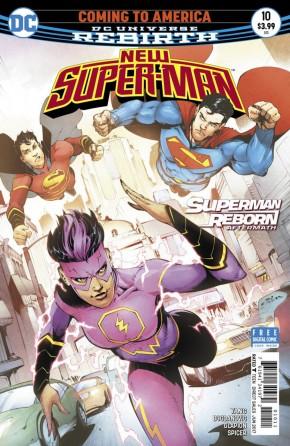 NEW SUPER MAN #10