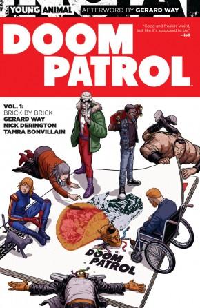 DOOM PATROL VOLUME 1 BRICK BY BRICK GRAPHIC NOVEL