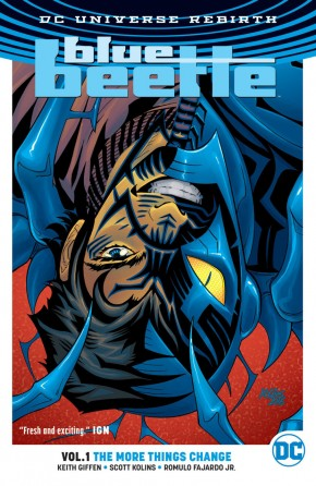 BLUE BEETLE VOLUME 1 THE MORE THINGS CHANGE GRAPHIC NOVEL