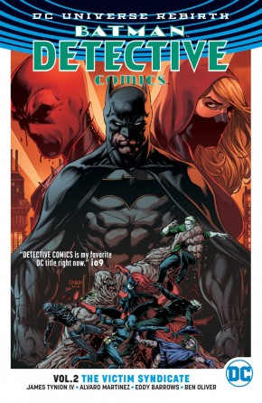 BATMAN DETECTIVE COMICS VOLUME 2 VICTIM SYNDICATE GRAPHIC NOVEL