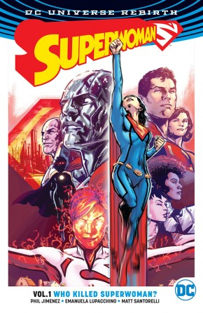 SUPERWOMAN VOLUME 1 WHO KILLED SUPERWOMAN GRAPHIC NOVEL