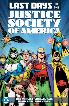 LAST DAYS OF THE JUSTICE SOCIETY OF AMERICA GRAPHIC NOVEL
