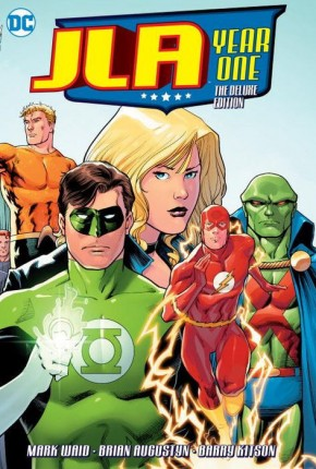 JLA YEAR ONE DELUXE EDITION HARDCOVER