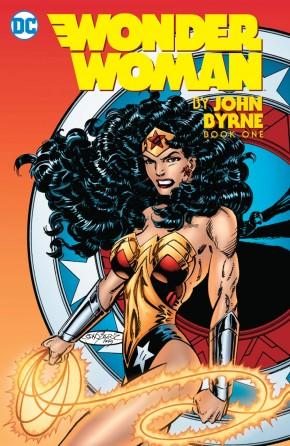 WONDER WOMAN BY JOHN BYRNE VOLUME 1 HARDCOVER