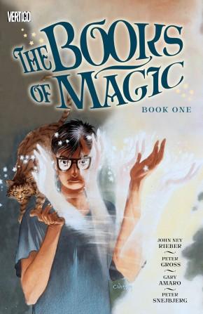 THE BOOKS OF MAGIC BOOK 1 GRAPHIC NOVEL