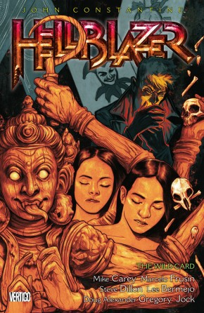 HELLBLAZER VOLUME 16 THE WILD CARD GRAPHIC NOVEL