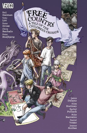 FREE COUNTRY A TALE OF THE CHILDRENS CRUSADE GRAPHIC NOVEL