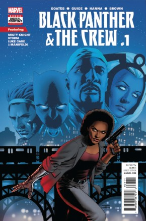 BLACK PANTHER AND THE CREW #1