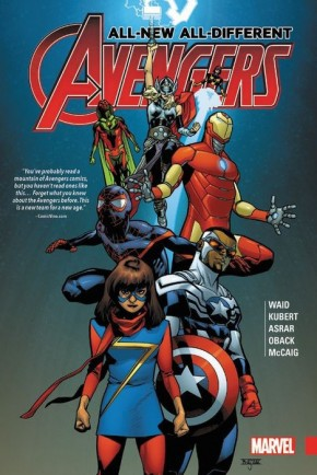 ALL NEW ALL DIFFERENT AVENGERS VOLUME 1 HARDCOVER