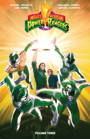 MIGHTY MORPHIN POWER RANGERS VOLUME 3 GRAPHIC NOVEL