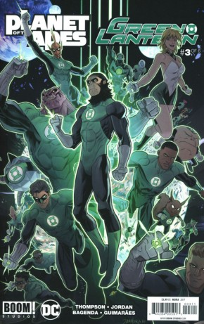 PLANET OF THE APES GREEN LANTERN #3