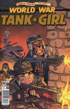 TANK GIRL WORLD WAR TANK GIRL #3