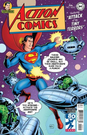 ACTION COMICS #1000 1950S VARIANT BY DAVE GIBBONS