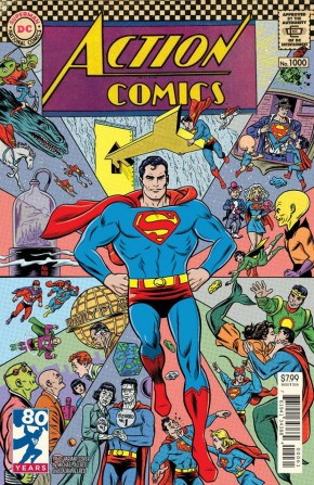 ACTION COMICS #1000 1960S VARIANT BY MICHAEL ALLRED