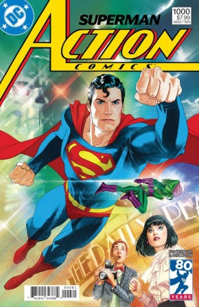 ACTION COMICS #1000 1980S VARIANT BY JOSHUA MIDDLETON