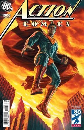 ACTION COMICS #1000 2000S VARIANT BY LEE BERMEJO