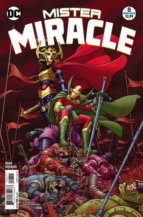 MISTER MIRACLE #8 (2017 SERIES)