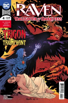 RAVEN DAUGHTER OF DARKNESS #4
