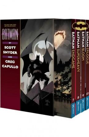 BATMAN BY SCOTT SNYDER AND GREG CAPULLO GRAPHIC NOVEL BOX SET 3