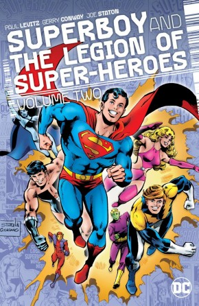 SUPERBOY AND THE LEGION OF SUPERHEROES VOLUME 2 HARDCOVER
