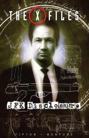 X-FILES JFK DISCLOSURE HARDCOVER