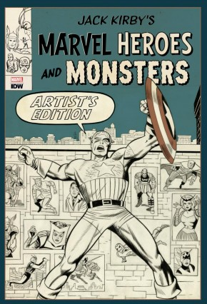 JACK KIRBY MARVEL HEROES AND MONSTERS ARTIST EDITION HARDCOVER