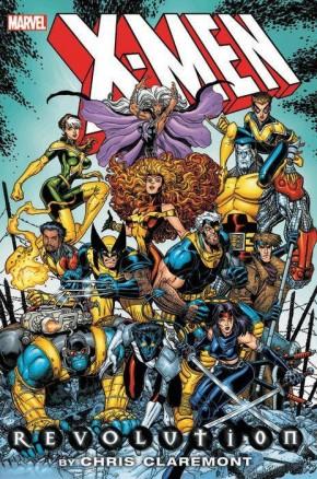 X-MEN REVOLUTION BY CHRIS CLAREMONT OMNIBUS HARDCOVER