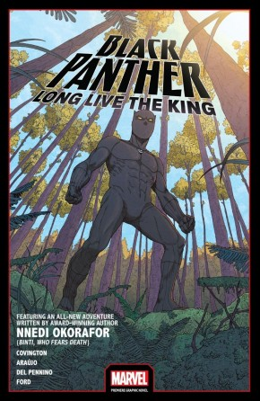 BLACK PANTHER LONG LIVE THE KING GRAPHIC NOVEL