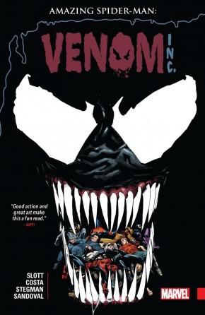 AMAZING SPIDER-MAN VENOM INC GRAPHIC NOVEL