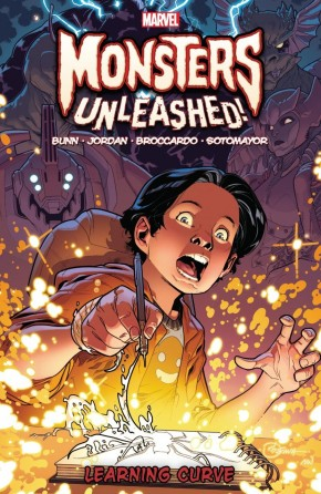 MONSTERS UNLEASHED VOLUME 2 LEARNING CURVE GRAPHIC NOVEL