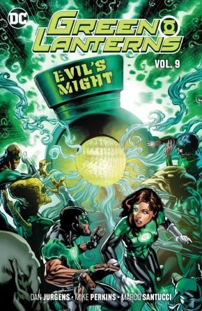 GREEN LANTERNS VOLUME 9 EVILS MIGHT GRAPHIC NOVEL