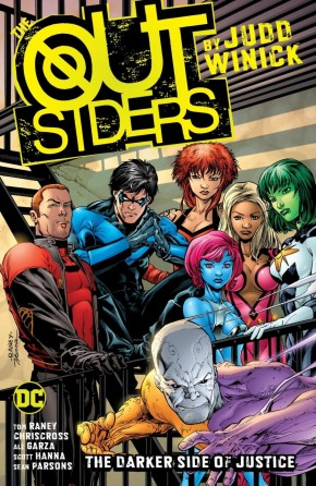 OUTSIDERS BY JUDD WINICK BOOK 1 GRAPHIC NOVEL
