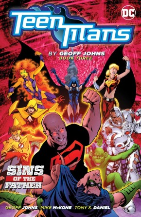 TEEN TITANS BY GEOFF JOHNS BOOK 3 GRAPHIC NOVEL