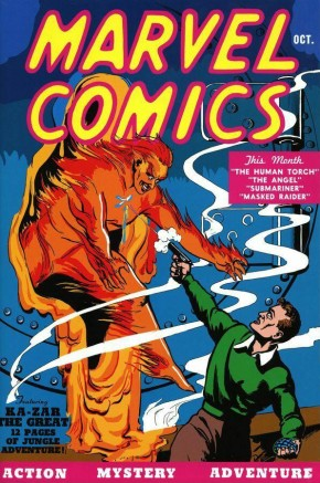 GOLDEN AGE MARVEL COMICS OMNIBUS VOLUME 1 HARDCOVER (New Printing - 848 Pages)