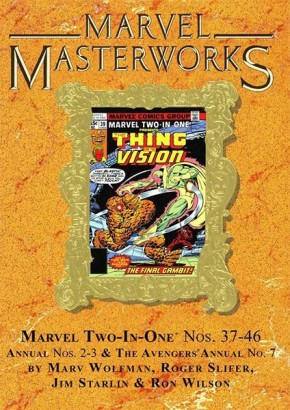 MARVEL MASTERWORKS MARVEL TWO IN ONE VOLUME 4 DM VARIANT #278 EDITION