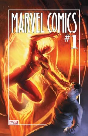 MARVEL COMICS #1 80TH ANNIVERSARY EDITION HARDCOVER