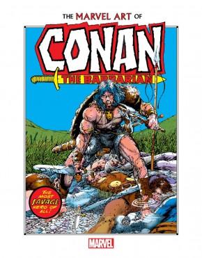 MARVEL ART OF CONAN THE BARBARIAN HARDCOVER