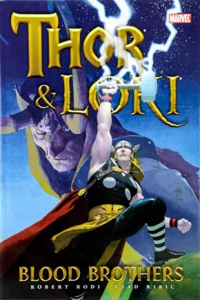 THOR AND LOKI BLOOD BROTHERS HARDCOVER (NEW PRINTING)