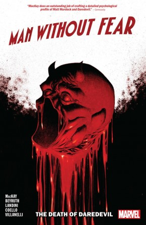 MAN WITHOUT FEAR DEATH OF DAREDEVIL GRAPHIC NOVEL