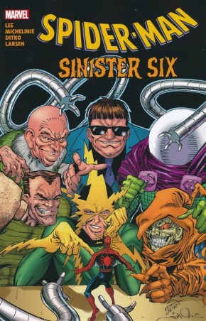 SPIDER-MAN SINISTER SIX GRAPHIC NOVEL