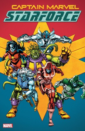 CAPTAIN MARVEL STARFORCE GRAPHIC NOVEL
