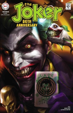 JOKER 80TH ANNIVERSARY 100 PAGE SUPER SPECTACULAR #1 1960S FRANCESCO MATTINA VARIANT