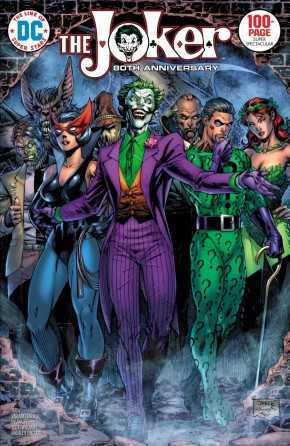 JOKER 80TH ANNIVERSARY 100 PAGE SUPER SPECTACULAR #1 1970S JIM LEE VARIANT