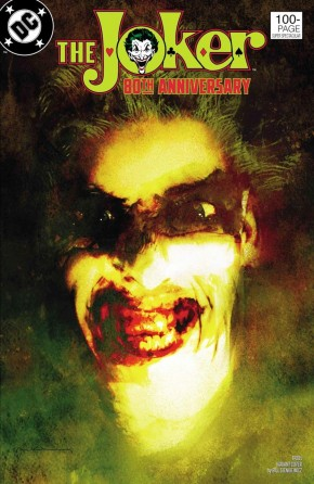 JOKER 80TH ANNIVERSARY 100 PAGE SUPER SPECTACULAR #1 1980S BILL SIENKIEWICZ VARIANT